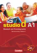 studio d, Grundstufe: Sprachtraining; A1 - Tl.1