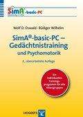 SimA-basic-PC-Gedächtnistraining und Psychomotorik, CD-ROM