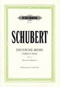 Deutsche Messe F-Dur D 872 für Chor und Orgel (Bläser), Klavierauszug