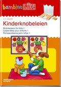 bambinoLÜK-Übungshefte: Kinderknobeleien - Tl.1