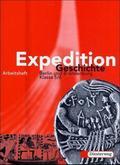 Expedition Geschichte, Ausgabe Berlin und Brandenburg: Klasse 5/6, Arbeitsheft