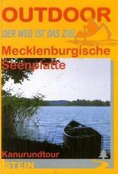 Mecklenburgische Seenplatte, Kanurundtour