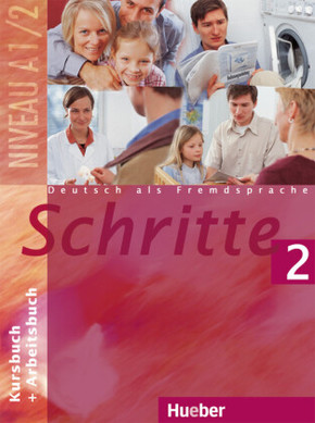 Schritte - Deutsch als Fremdsprache: Kursbuch + Arbeitsbuch; Bd.2