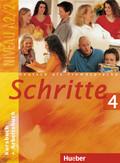 Schritte - Deutsch als Fremdsprache: Kursbuch + Arbeitsbuch; Bd.4