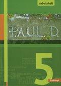 P.A.U.L. D., Ausgabe für Gymnasien: 5. Klasse, Arbeitsheft