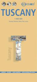 Borch Map Toskana; Toscana / Tuscany