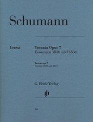 Toccata C-Dur op.7, Klavier