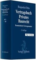 Vertragsbuch Privates Baurecht, m. CD-ROM