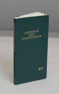 Lektionar zum Stundenbuch; 6.-13. Woche im Jahreskreis; Bd.2/5