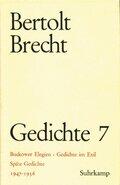 Gedichte, 10 Bde., Ln: 1947-1956; Bd.7