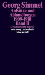 Aufsätze und Abhandlungen 1909-1918 - Bd.2