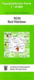 Topographische Karte Baden-Württemberg Bad Waldsee