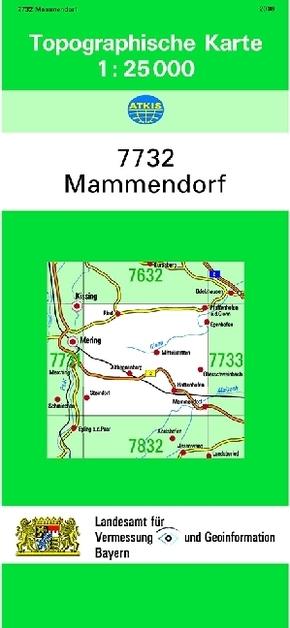 Topographische Karte Bayern.Topographische Karte Bayern Mammendorf