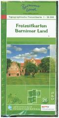 Topographische Freizeitkarte Brandenburg Barnimer Land, 3 Bl.