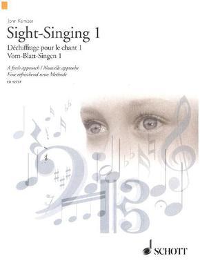 Vom-Blatt-Singen - Sight-Singing - Dechiffrage pour le chant - Tl.1