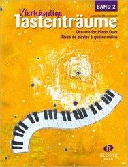 Vierhändige Tastenträume - Bd.2