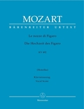 Die Hochzeit des Figaro KV 492, Klavierauszug