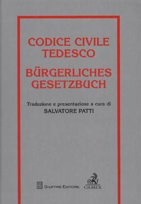 Bürgerliches Gesetzbuch (BGB); Codice Civile Tedesco