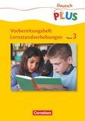 Vorbereitungsheft Lernstandserhebungen, Deutsch Klasse 3