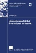 Informationsqualität bei Transaktionen im Internet