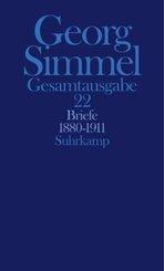 Gesamtausgabe: Briefe 1880-1911; Bd.22