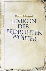 Lexikon der bedrohten Wörter - Bd.1