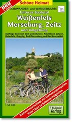 Doktor Barthel Karte Unteres Saaletal, Weißenfels, Merseburg, Zeitz und Umgebung