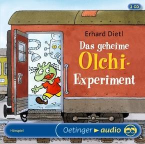 Das geheime Olchi-Experiment, 2 Audio-CDs