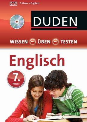 Duden Wissen - Üben - Testen: Englisch 7. Klasse, m. Audio-CD