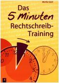 Das 5-Minuten-Rechtschreibtraining