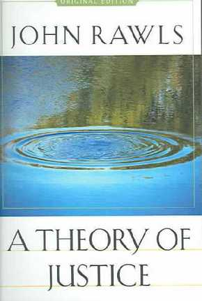 A Theory of Justice, Original Edition