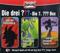 Die drei Fragezeichen, Die 7. Box, Folge 19-21, 3 Audio-CDs