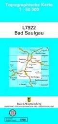 Topographische Karte Baden-Württemberg Bad Saulgau