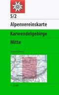 Alpenvereinskarte Karwendelgebirge Mitte
