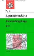 Alpenvereinskarte Karwendelgebirge Ost