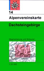 Alpenvereinskarte Dachsteingebirge