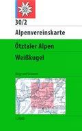 Alpenvereinskarte Ötztaler Alpen, Weißkugel