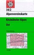 Alpenvereinskarte Kitzbüheler Alpen Ost