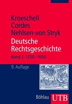 Deutsche Rechtsgeschichte - Bd.2