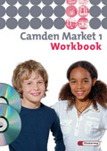 Camden Market, Ausgabe Sekundarstufe I: Klasse 5, Workbook, m. CD-ROM 'Multimedia-Sprachtrainer' u. Audio-CD; Bd.1