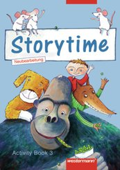 Storytime, Ausgabe 2005: 3. Jahrgangsstufe, Activity Book