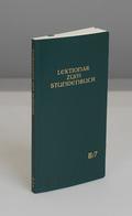 Lektionar zum Stundenbuch: 21.-27. Woche im Jahreskreis; Bd.2/7