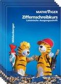 Mathetiger: 1. Schuljahr, Ziffernschreibkurs Lateinische Ausgangsschrift; Bd.1 (5 Expl.)