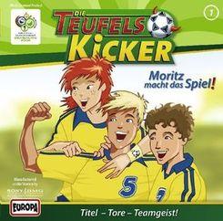 Die Teufelskicker, Audio-CDs: Moritz macht das Spiel