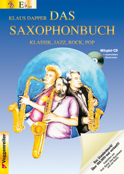 Das Saxophonbuch: Version Eb (Altsaxophon), m. Audio-CD; Tl.1
