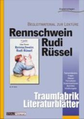 Rennschwein Rudi Rüssel, Literaturblätter