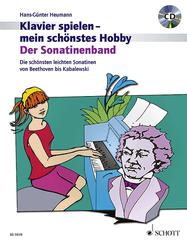 Klavier spielen, mein schönstes Hobby - Der Sonatinenband, m. Audio-CD