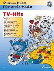 TV-Hits, Klavier, m. Audio-CD