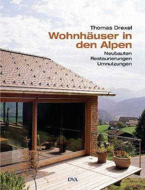 Wohnhäuser in den Alpen