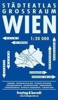 Freytag & Berndt Städteatlas Wien Großraum, Stadtplan 1:20.000